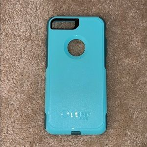 Teal iPhone 7 and 8 plus OtterBox case